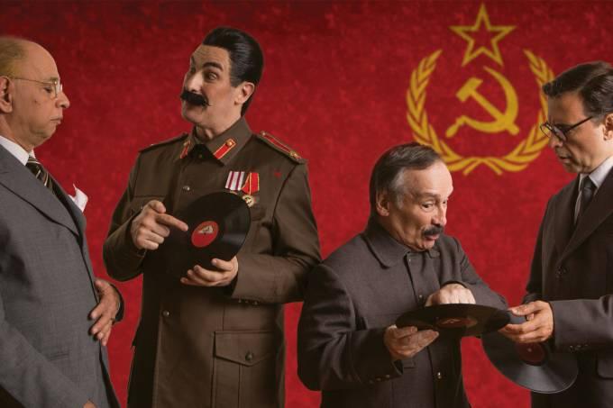 Aula Magna com Stalin