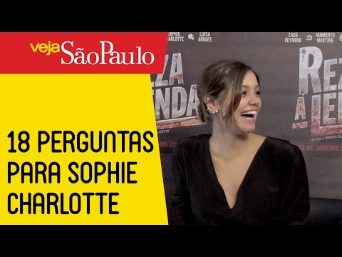 18 perguntas para Sophie Charlotte