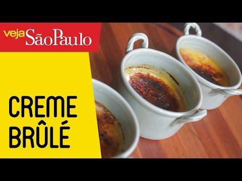 Receita: Creme Brûlé