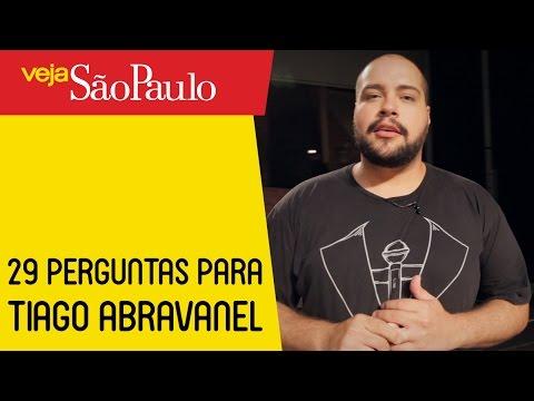 29 Perguntas para Tiago Abravanel