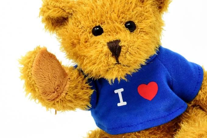 urso de pelucia amo voce