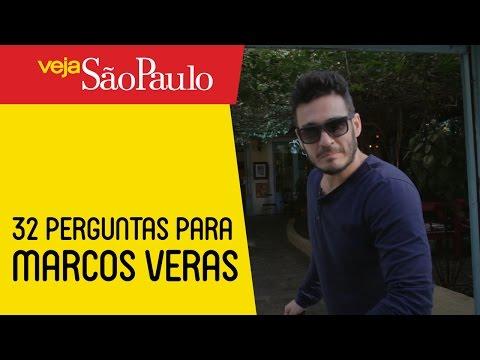 32 perguntas inusitadas para Marcos Veras