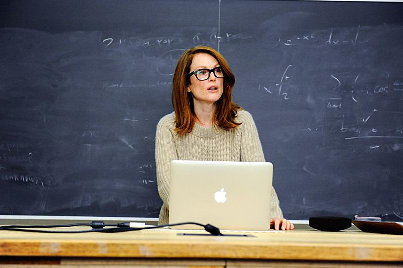 Para Sempre Alice: a atriz no papel da professora, vencedora do Oscar