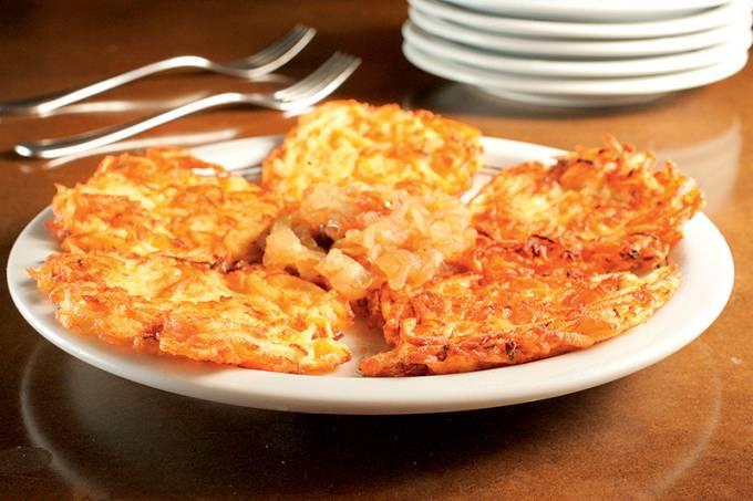 Kartoffelpuffer, do Bierquelle