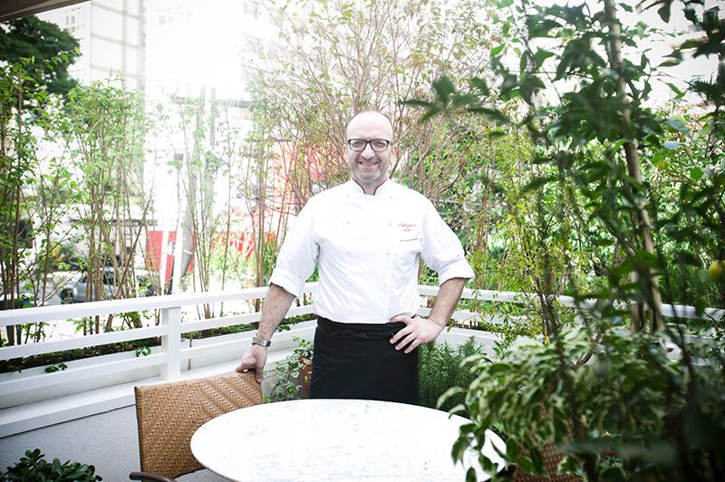O chef Salvatori Loi