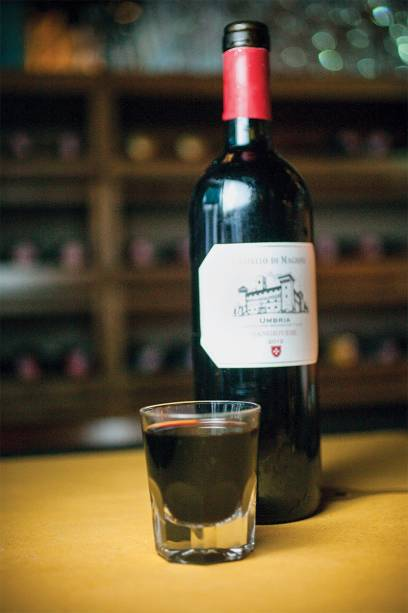 O vinho em minicopos
