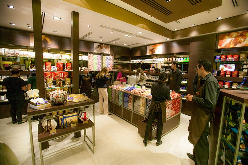 A unidade do Shopping Pátio Higienópolis é a primeira loja no Brasil