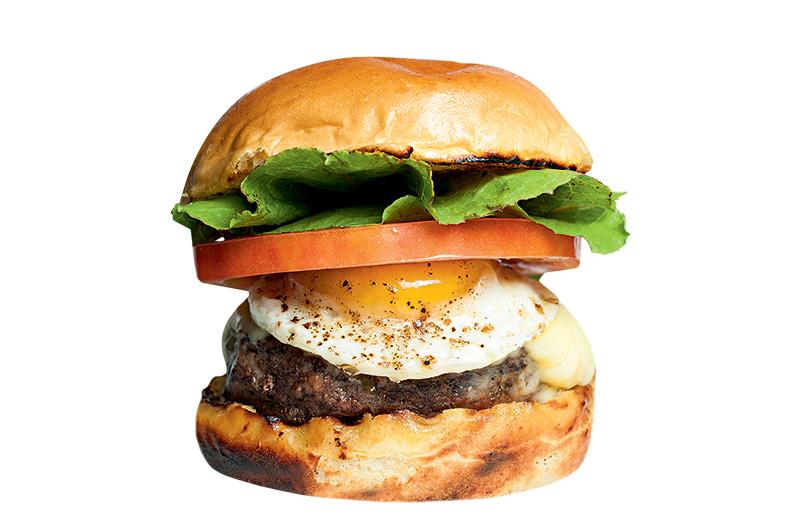 Ramona: cheeseburger (R$ 35,00)