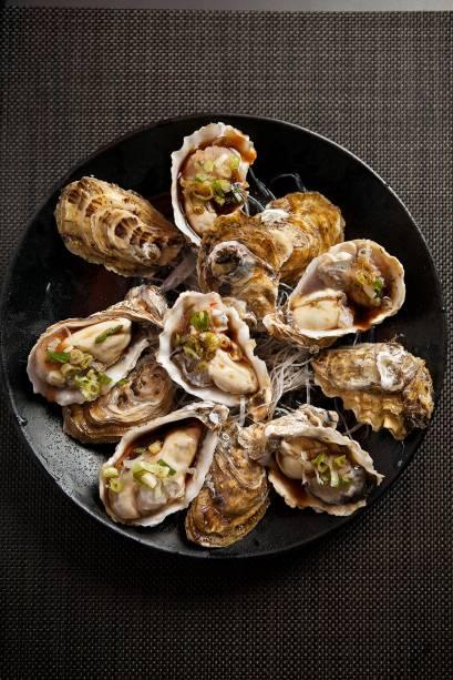 Minato Izakaya: ostras