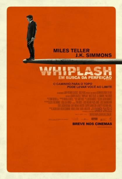 Whiplash - Em Busca da Perfeição: pôster do filme