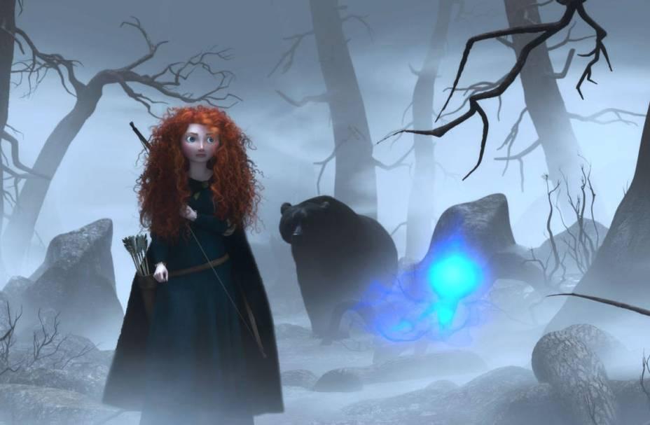 Valente: Merida é uma jovem princesa que quer mudar seu destino