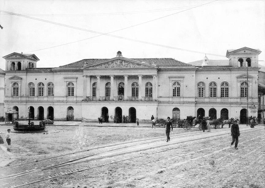 Teatro Sucre, em Quito, no Equador