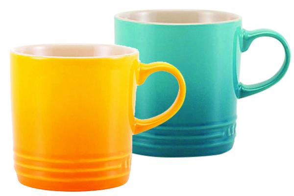 Xícaras para café expresso, R$ 39,00 cada uma. Le Creuset.