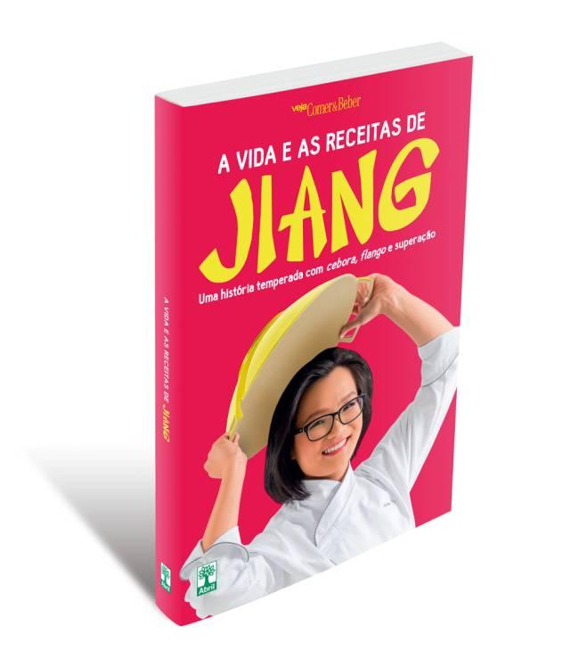 Livro A Vida e As Receitas de Jiang