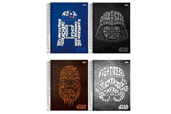 Cadernos de 200 folhas