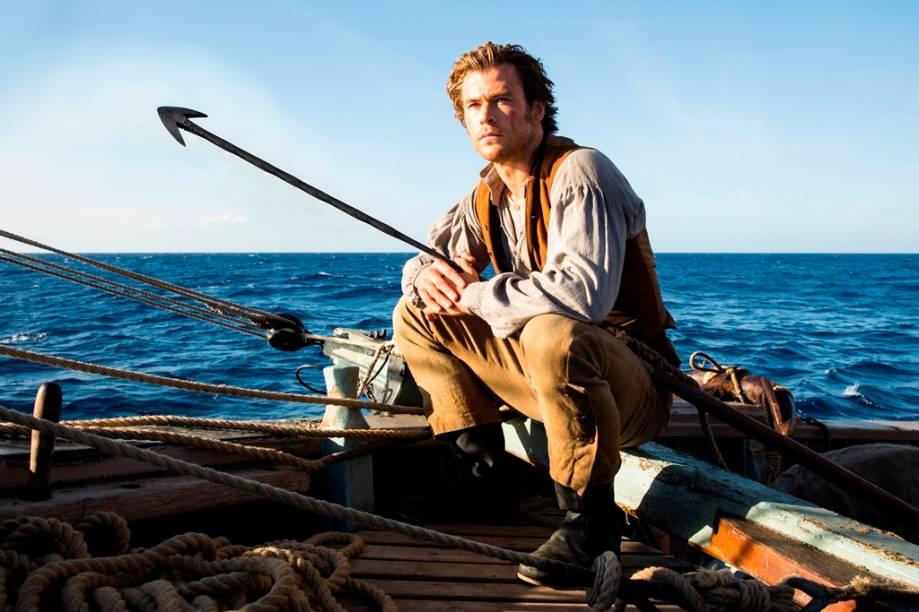No Coração do Mar: o ator Chris Hemsworth protagoniza o drama