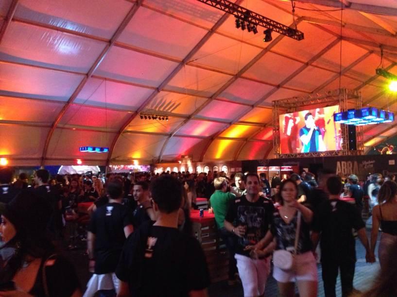 Ambiente do Festival