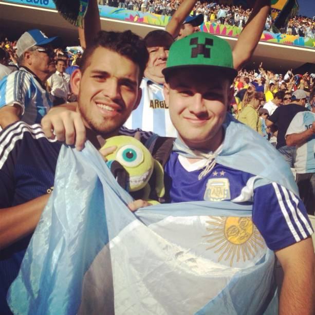 Hermanos eram maioria nas ruas e na Arena Corinthians