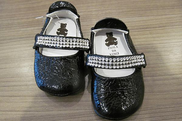 Sapato infantil (tamanhos 16 e 18): 80,50 reais, na Paola da Vinci (Rua Oscar Freire, 958, Jardins)