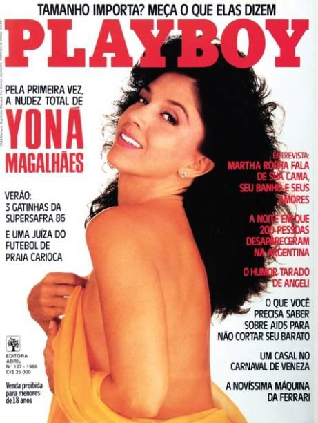 Capa da Playboy de 1986