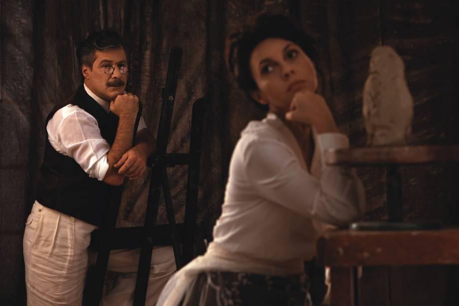 Leopoldo Pacheco e Melissa Vettore: Rodin e Camille sob a visão íntima