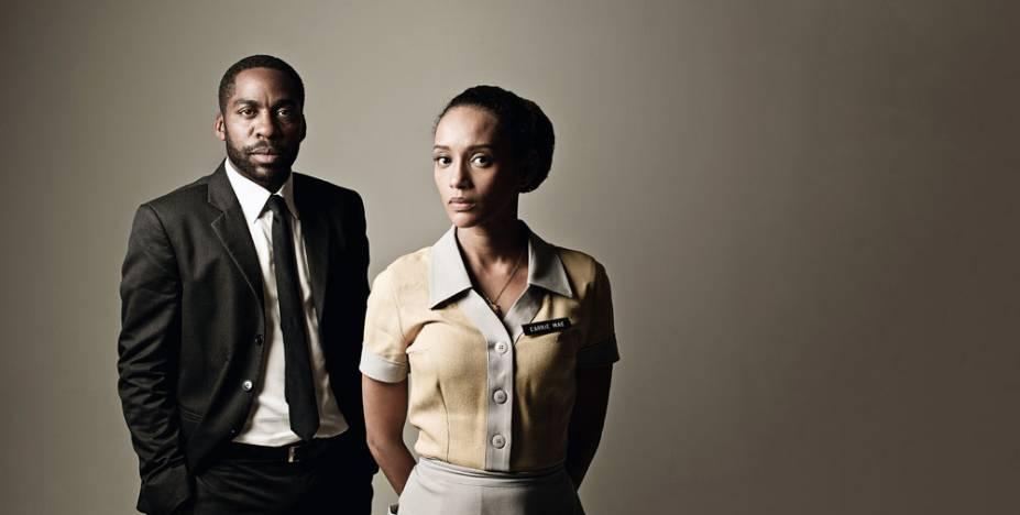 Ramos e Taís: peça sobre Martin Luther King no Teatro Faap