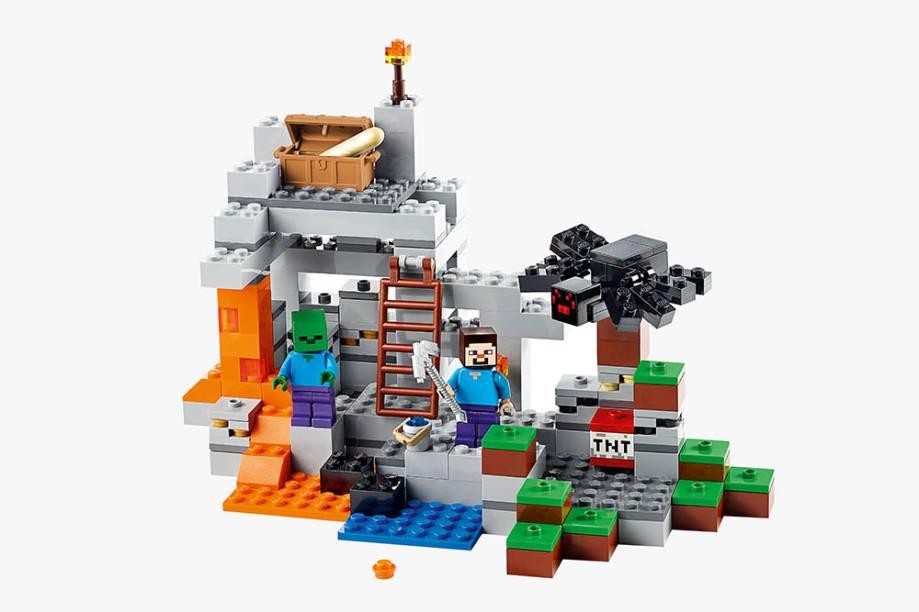 Lego Minecraft A Caverna