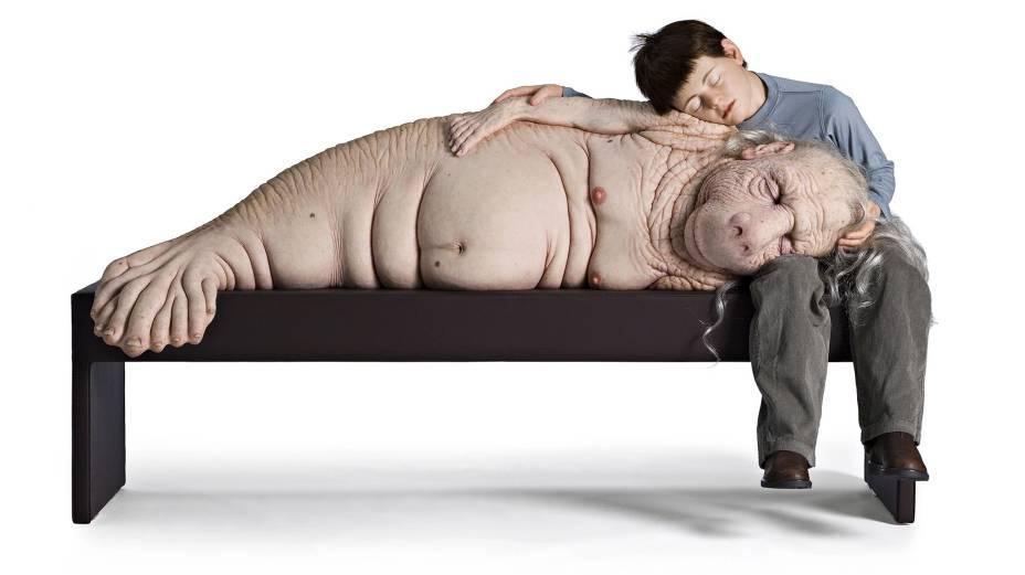 The Long Awaited, de Patricia Piccinini, uma das obras mais importantes da mostra