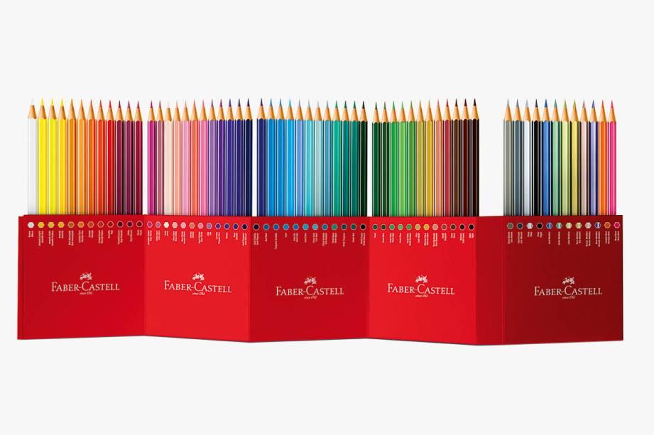 Estojo EcoLápis com sessenta cores