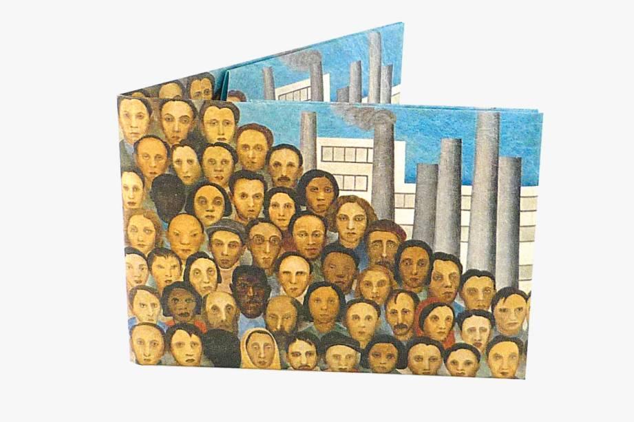 Carteira impermeável com ilustração de Tarsila do Amaral