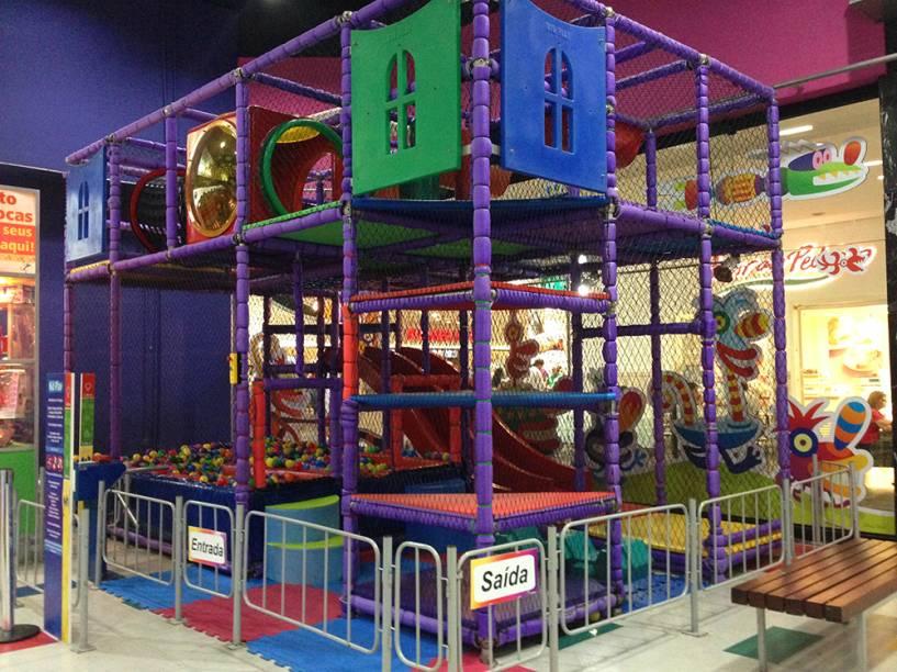 Playland Eldorado: piscina de bolinhas fica dentro do brinquedo <em>Kid Play</em>