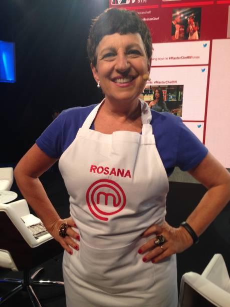 Rosana Hermann, outra convidada do time de blogueiros