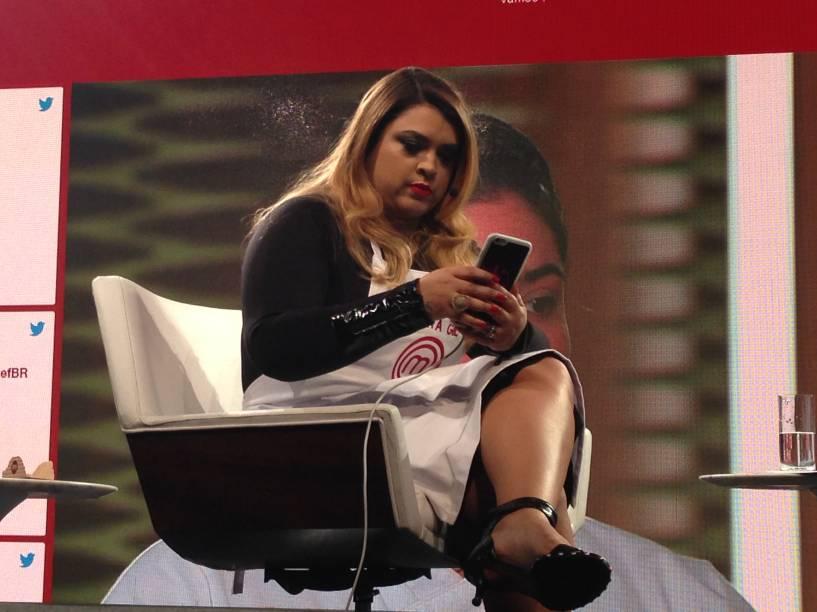 A cantora Preta Gil comandou a equipe de tuiteiros