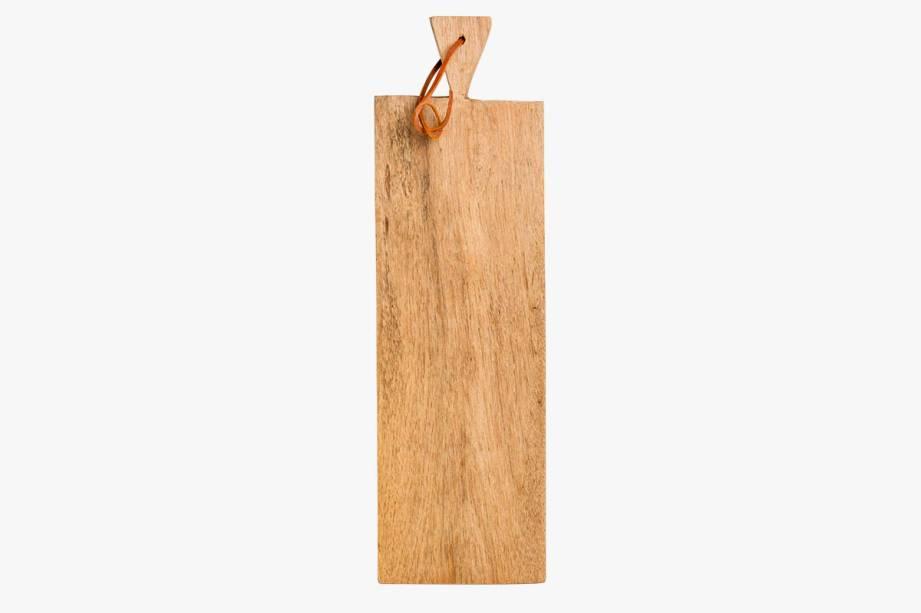 R$ 136,90. Tábua para servir de madeira de cedro.