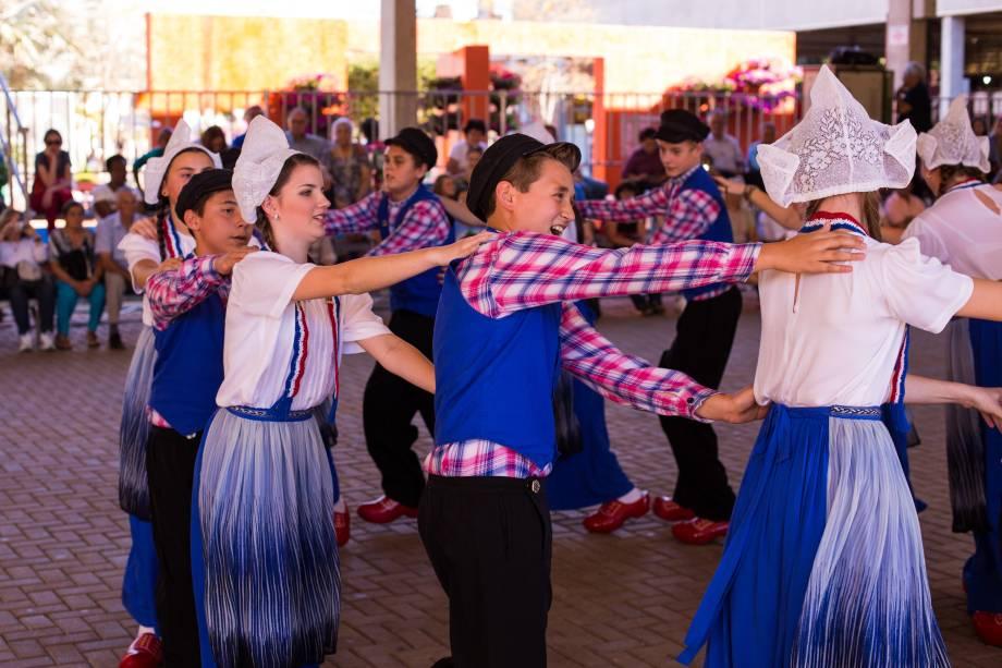As coreografias apresentadas têm cerca de 1 600 anos.