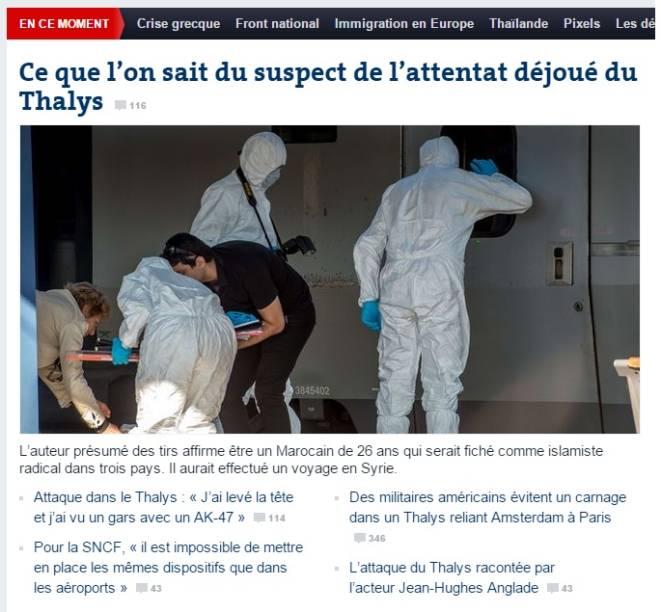 Le Monde: o que se sabe sobre o ataque e o suspeito