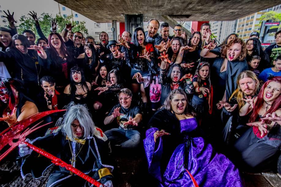 Dia do Vampiro é comemorado em São Paulo neste sábado (15)