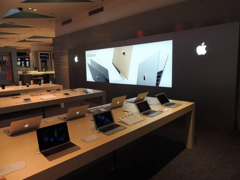 Passageiro poderá comprar Macbooks e demais produtos