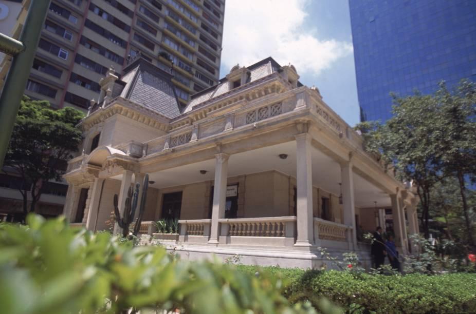 Casa das Rosas, na Avenida Paulista