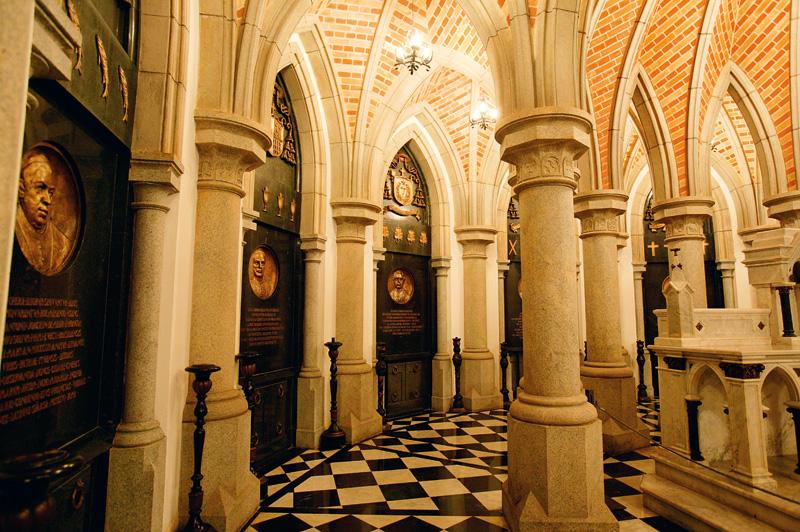 Cripta da Sé, na região central