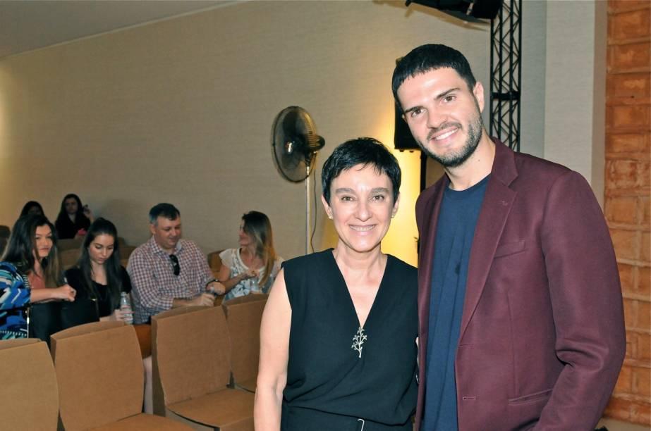 Lívia Pedreira, da Casa Cor, e Guto Requena, designer e palestrante na DW!