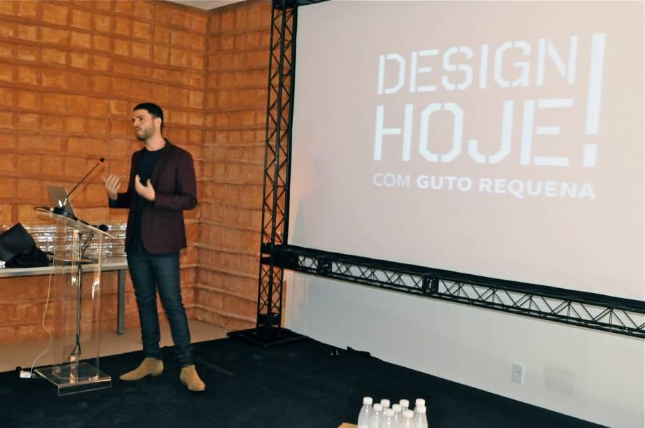 Guto falou sobre novidades do design na atualidade