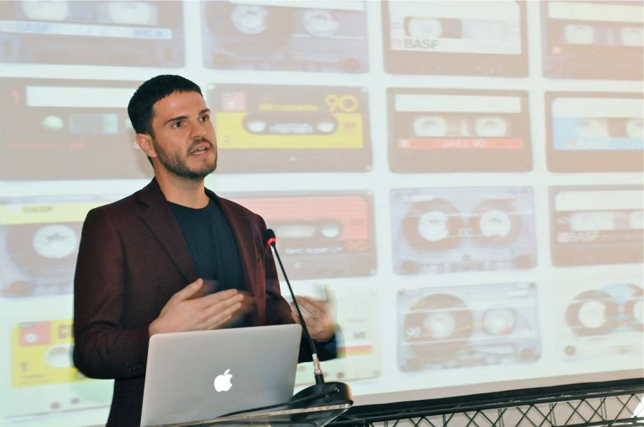 Guto apresentou referência de seus trabalhos