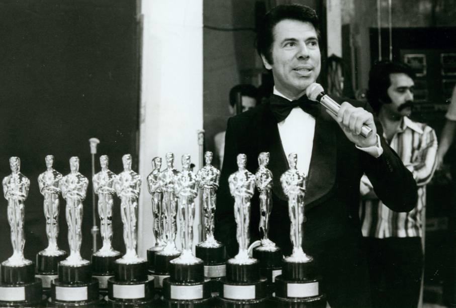Entrega do Troféu Imprensa em 1975