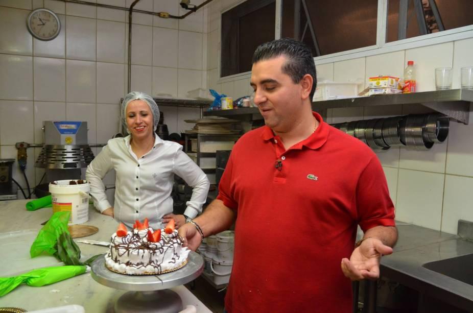 Cake Boss: mas a guloseima não foi parar na vitrine da padaria