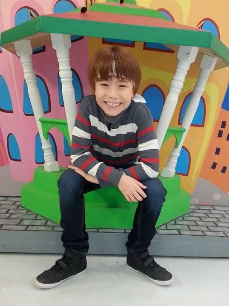 Matheus Ueta, o Kokimoto (japonês levado). Idade: 11 anos. Cachê: 10 000 reais