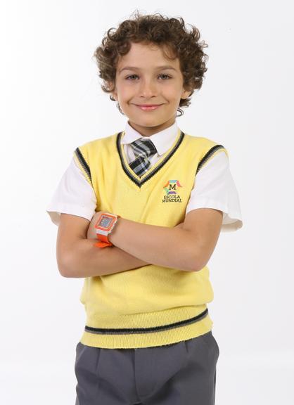 Guilherme Seta, o Davi (judeu galã). Idade: 12 anos. Cachê: entre 8 000 e 12 000 reais