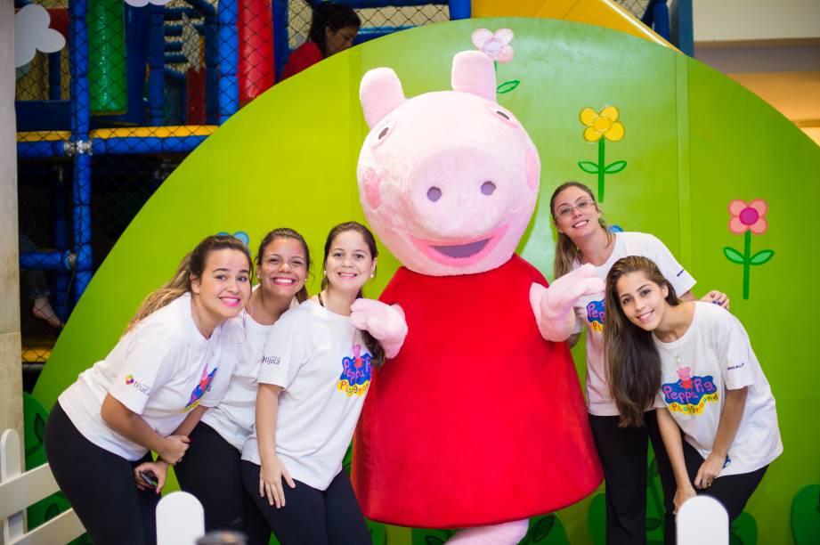 Em dias especiais, será possível conhecer e tirar fotos com a porquinha