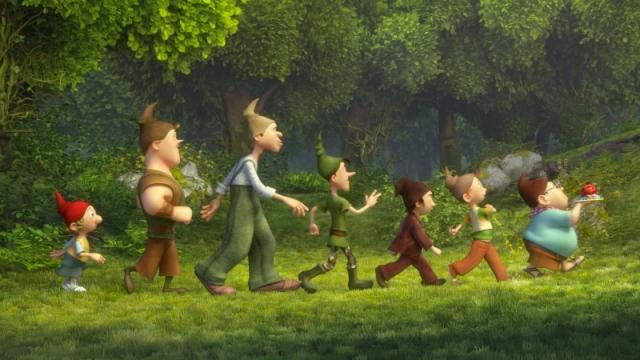 As Aventuras dos Sete Anões: animação dirigida por Harald Siepermann