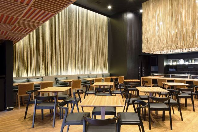 Salão do restaurante Kitchin
